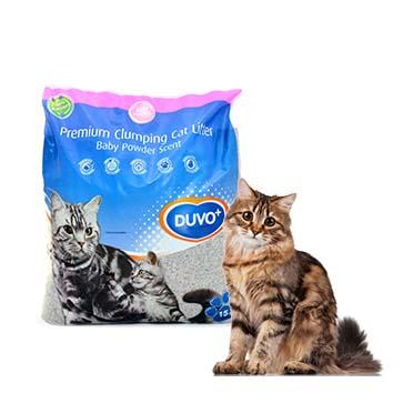 Cat litter premium with babypowder sent  15KG