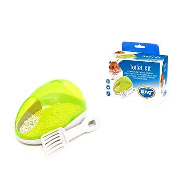 Hamster potty kit Green
