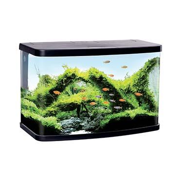 Aquarium panorama vs90 Black 76,2x30,6x45,9CM
