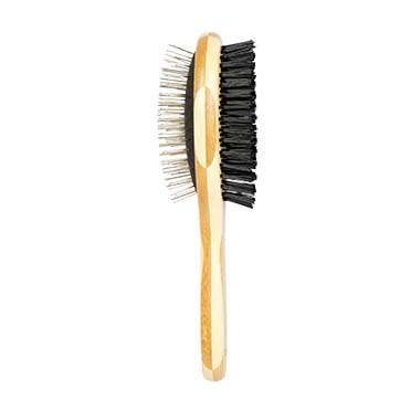 2 in 1 grooming brush  23x7cm
