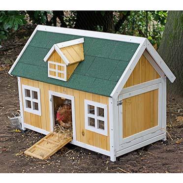 Woodland chicken/rabbit hutch combi  115x68x86CM