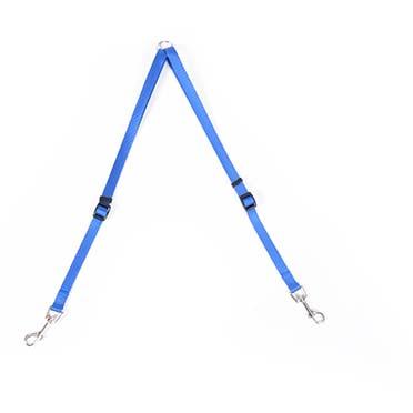 Nylon coupler Dark blue 40-70cm/15mm
