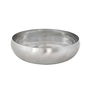 Feeding bowl gobble-stop brushed slow  Ø11,7cm