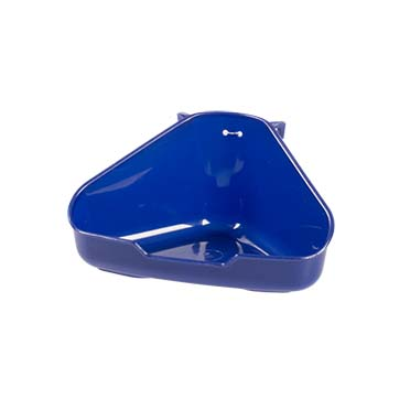 Corner toilet for rodents Blue 16,5x12,5x8CM