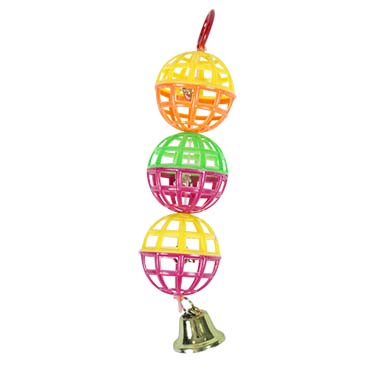 Play balls with bell  15cm