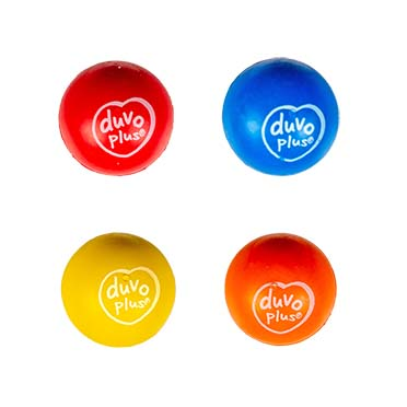 Rubber bouncy ball mix Mixed colors 5,5cm