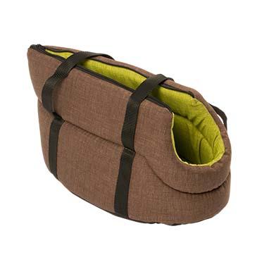 Travel bag earth Brown/green 40cm