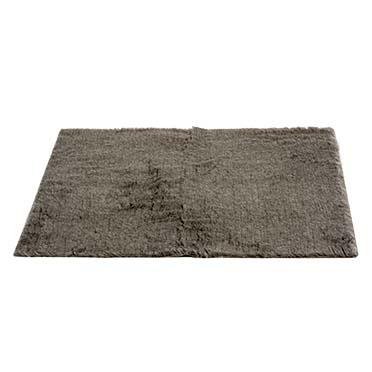 Furbed anti-slip Grey 75x50cm