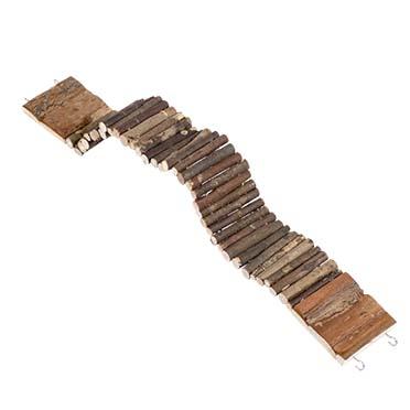 Wooden bendy ladder  55x7CM