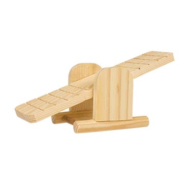 Wooden seesaw  22x8x7,5CM