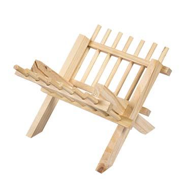 Wooden hayrack  23x26x17CM