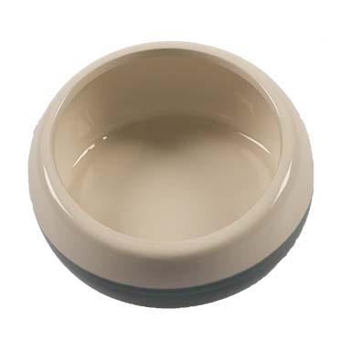 Feeding bowl stone obliq Petrol Ø15CM