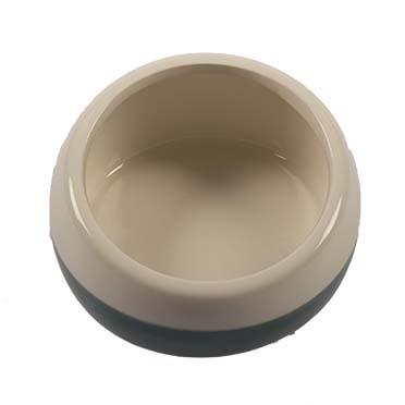 Feeding bowl stone obliq Petrol Ø11CM