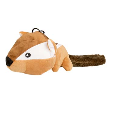 Plush chipmunk fluffy with big head  30cm