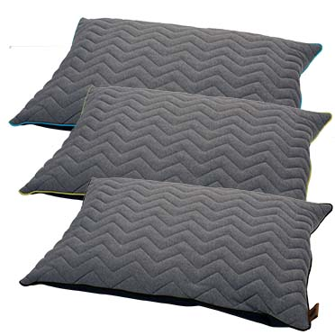 Display sweater zigzag pillow siesta mix Mixed colors 100x70cm