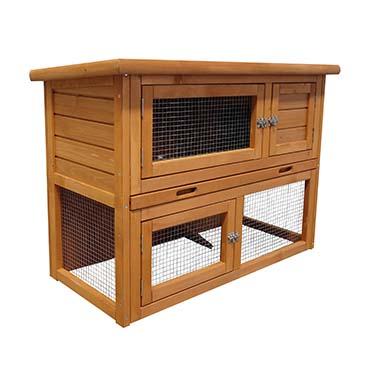 Rabbit hutch barnie Brown 95x45x70CM