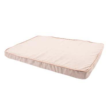 Memory foam cushion blush Grey/pink 100x65x9cm