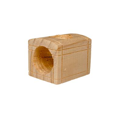 Wooden treasyre chest small animal toy