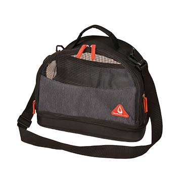Promenade london travel bag preppy 3in1 Schwarz 35x21x27,5cm