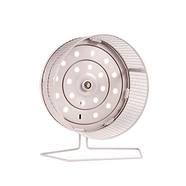 Activity wheel in metal Grey Ø18CM