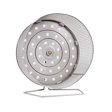 Activity wheel in metal Grey Ø27CM