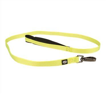 North leash nylon Neon yellow 120cm/15mm