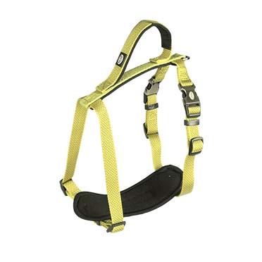 North harness nylon Neon yellow 30-40cm/15mm