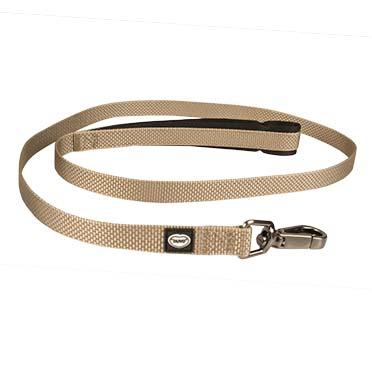 North leash nylon Taupe 120cm/15mm