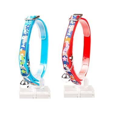 Cat collar cartoony pvc Mixed colors 20-30cm / 10mm