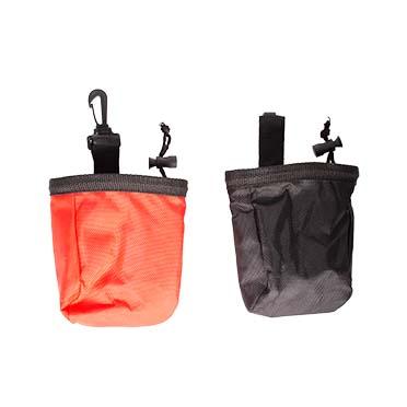 Treat pouch Black/red 11x11x14cm