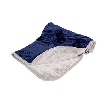 Snuggly couverture Bleu/gris 100x70cm
