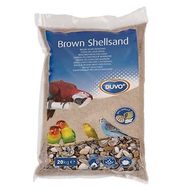 Brown shellsand Brown 20kg