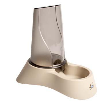 Water & food dispenser nuvola 2 Mocaccino 18x26x26cm/1,5l