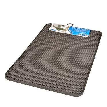 Cat litter mat swift Black 45x65cm