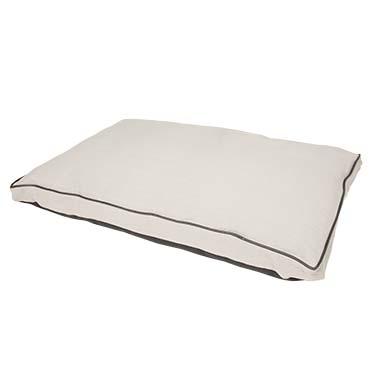 Polycotton block pillow siesta earl grey Grey 108x68x10cm