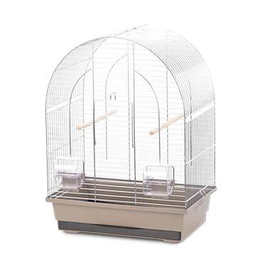 Bird cage natural lusi 1 Mocha/zinc 36x25x53cm