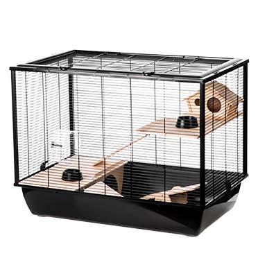 Rodent cage black hammer Black/black 78x48x58CM