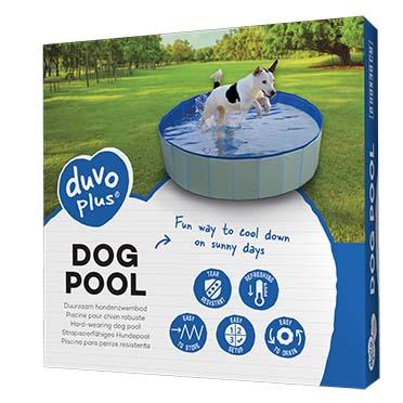Dog pool Blue Ø80x30cm