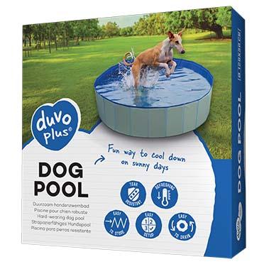 Dog pool Blue Ø120x30cm