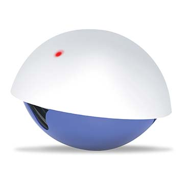 Laser 'n' snack toy White/blue 19x19x15cm