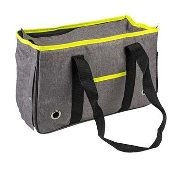 Lyon travel bag Grey 38x15x25cm