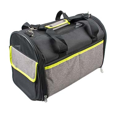 Lyon pet bag Black 41x26x28cm