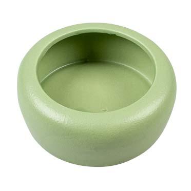 Feeding bowl stone verdure Green Ø10CM