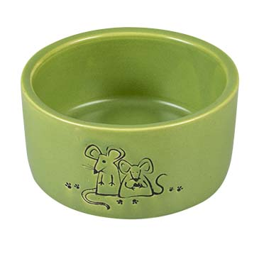 Feeding bowl stone verdure Green Ø7,5CM