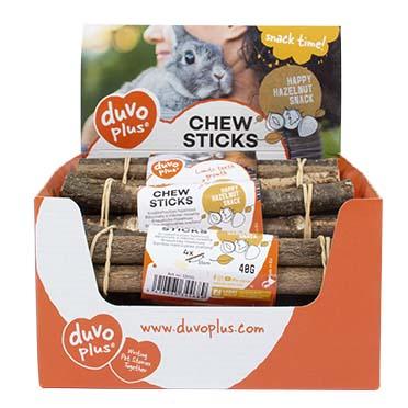 Chew sticks hazelnut  4st