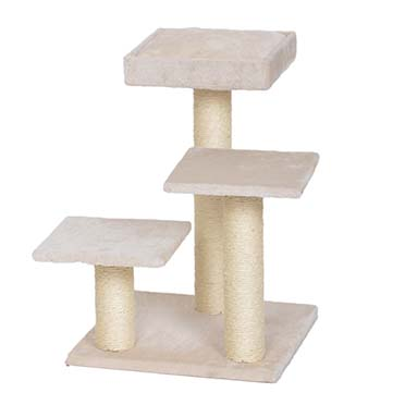Scratching post alice Creme 40x40x56cm