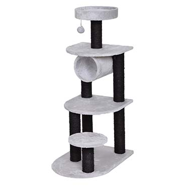 Scratching post adrien Grey/black 40x56x101cm