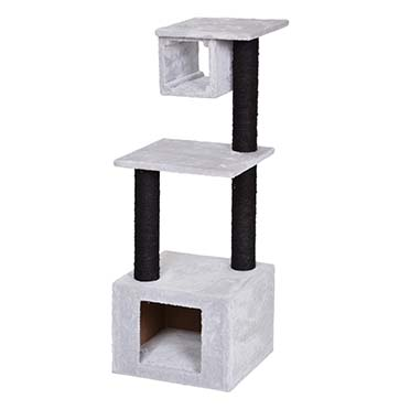 Scratching post amaury Grey/black 38x38x101cm