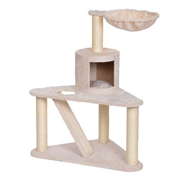 Scratching post axelle Grey/black 60x60x95,5