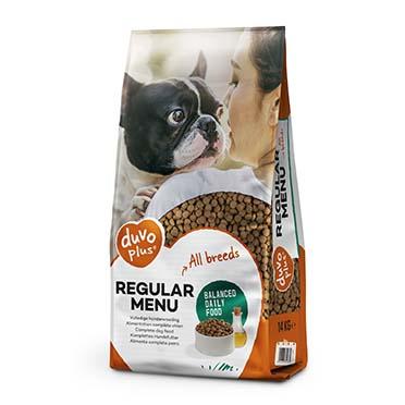 Regular menu dog  14kg